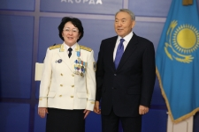 N.Nazarbayev issues state awards for large group of citizens