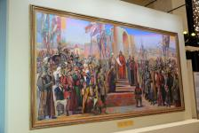 Mangilik El triptych dedicated to 550th anniversary of the Kazakh Khanate presented in Astana