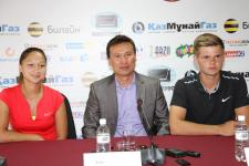 Astana hosts tennis tournament with prize fund of $100,000