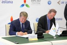 Transit passengers of Air Astana may visit EXPO-2017 free of charge