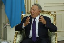 T. NIkolic presented Order of the Republic of Serbia to N. Nazarbayev